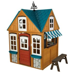 MAISONNETTE EXTÉRIEURE KIDKRAFT - Cabane en bois Seaside Cottage