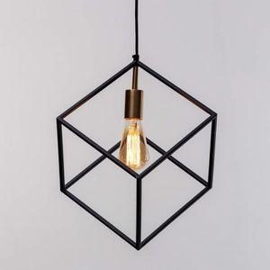 LUSTRE ET SUSPENSION Suspension à cage métal géométrique simple - Raj K