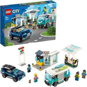 ASSEMBLAGE CONSTRUCTION LEGO® City 60257 La station-service