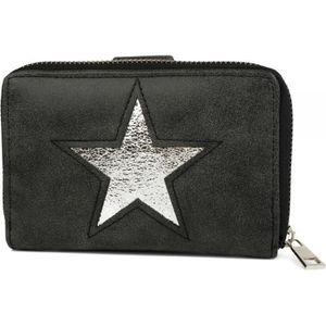 styleBREAKER sac portefeuille avec paillettes et aspect m/étallique femme 02040071 porte-monnaie couleur:Dor/é m/étallis/é // Beige // Argent fermeture /éclair