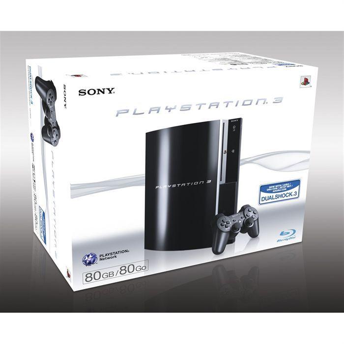sony ps3 80 go achat vente jeu ps3 console sony ps3 80 go cdiscount. Black Bedroom Furniture Sets. Home Design Ideas