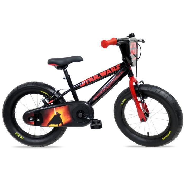 star wars v lo vtt fatbike 16 pouces enfant gar on 5 8 ans. Black Bedroom Furniture Sets. Home Design Ideas