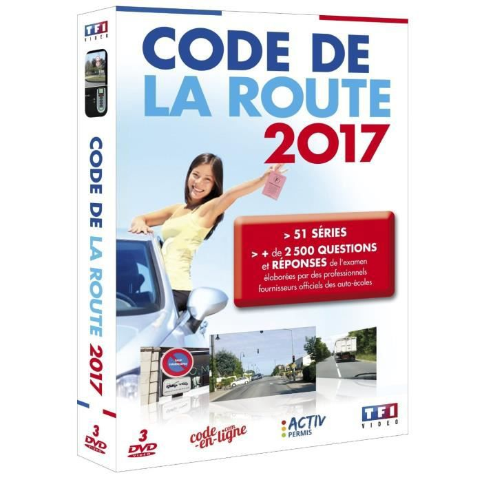 dvd code de la route 2017 en dvd documentaire pas cher acteurs inconnus tous publics r alisateur. Black Bedroom Furniture Sets. Home Design Ideas