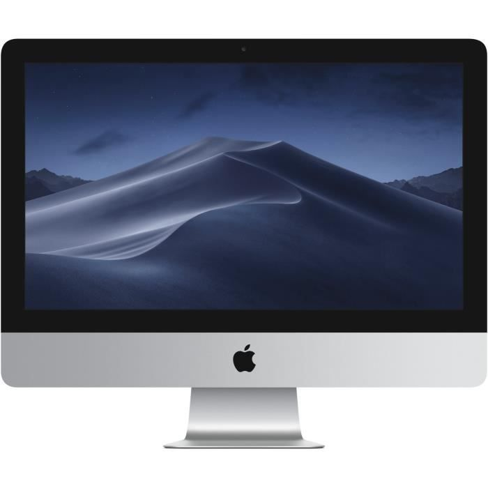 APPLE iMac MK452FN/A - 21,5 pouces 4K Retina - Intel Core i5 - RAM 8Go - Stockage 2To Fusion Drive - Intel Iris Pro Graphics 6200