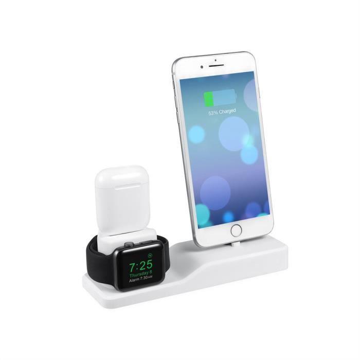 MONTRE OUTDOOR Support de station d'accueil pour iPhone pour Apple Watch pour Airpods 3 en 1 bg64 SDF64