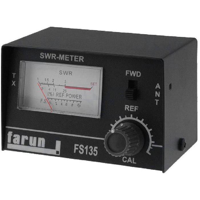 TOS-metre -mesure SWR- Amplitude 1.5÷150MHz