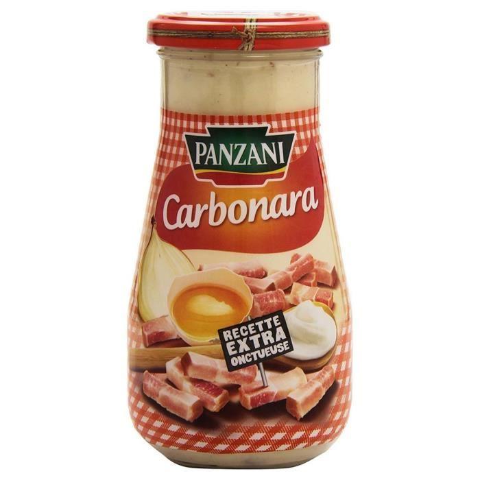 Panzani Sauce Carbonara (lot de 6)