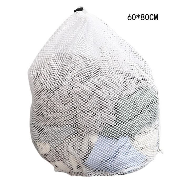 Filet De Lavage,Nouveau pratique grand filet de lavage sacs Durable fin filet sac à linge avec cordon verrouillable pour - Type A4