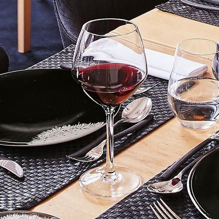 6 verres à vin 35cl Cabernet Vins Jeunes - Chef&Sommelier - Cristallin design moderne ultra transparent