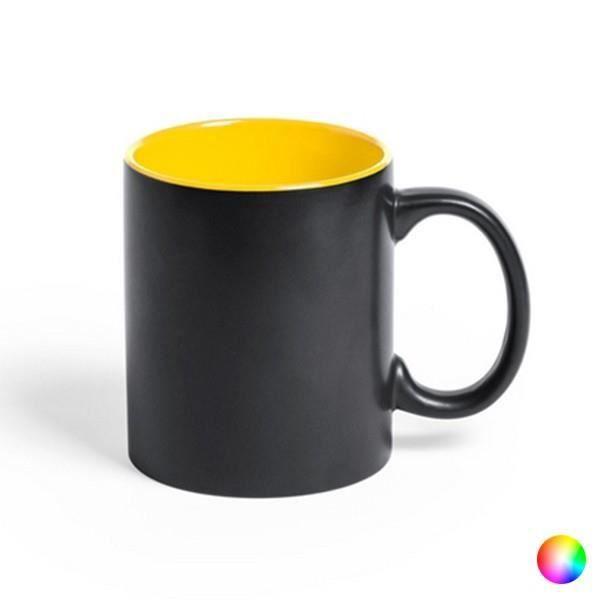 Tasse en Céramique (350 ml) Bicolore 145290 - couleur:Rouge