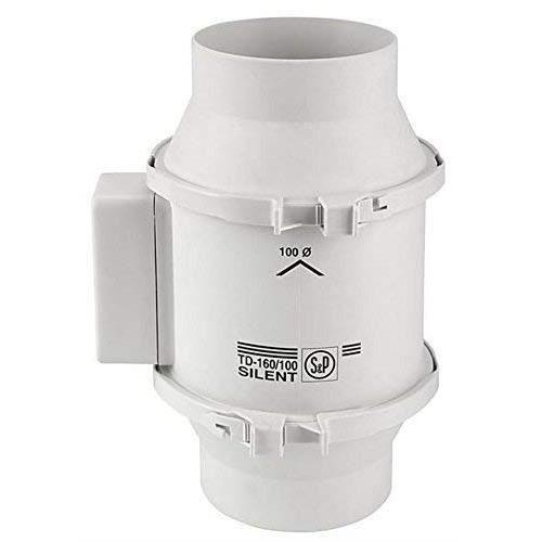 Inconnu S & P Td160-100 10,2 cm 160 m-H Ventilateur