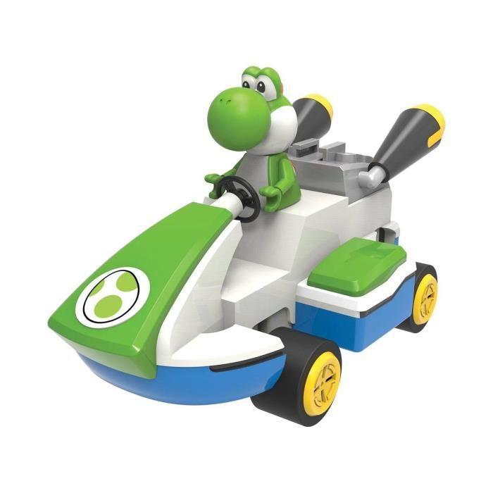 Knex - Super Mario Kart 8 - Jeu de construction K'NEX Yoshi 20 cm