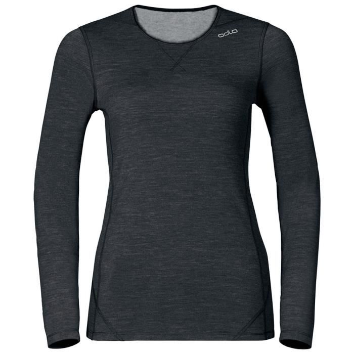 Vêtements femme Sous vêtements techniques t-shirts Odlo Shirt L/s Crew Neck Revolution Tw Warm