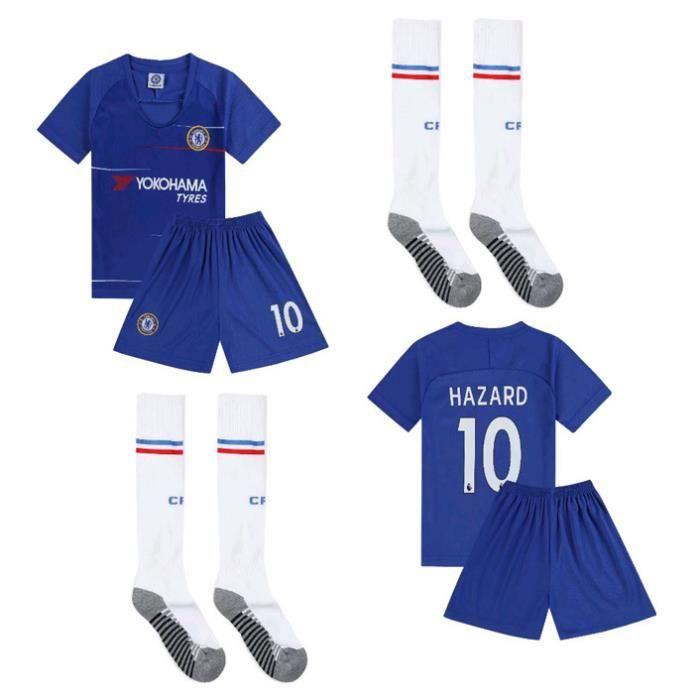 1024 maillots de football pour enfants avec numéro de chaussettes gratuit France Home 2 Stars Kit Jersey Messi Jersey