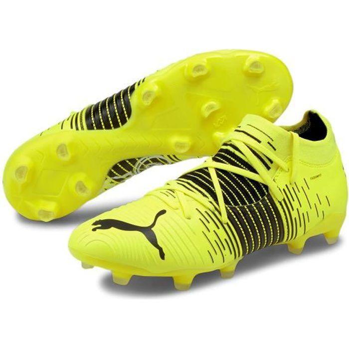 Chaussures de football Puma Future Z 3 1 FG/AG - jaune fluo/noir/blanc - 46
