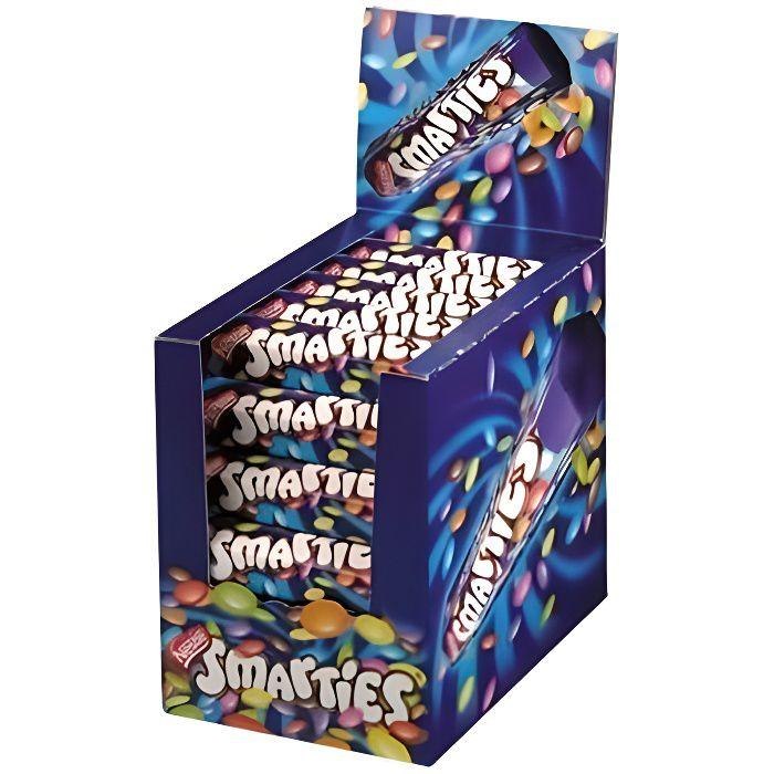 SMARTIES Pack sachets de bonbons au chocolat au lait - 36x 38 g