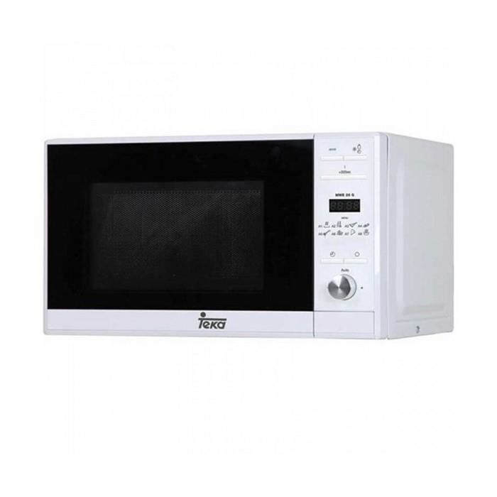 Micro-ondes admirable micro-ondes avec gril teka mwe225g 20 l 700w blanc