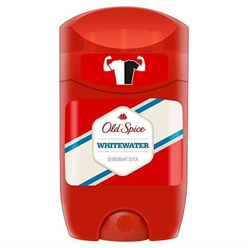 Old Spice Whitewater Stick déodorant, 50 ml, Lot de 6 2527521-C