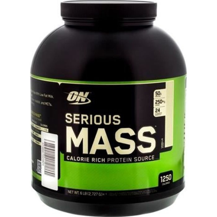Serious Mass 3 Cookies & Cream