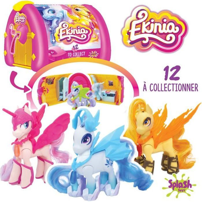 Ekinia - 1 box et un cheval à collectionner