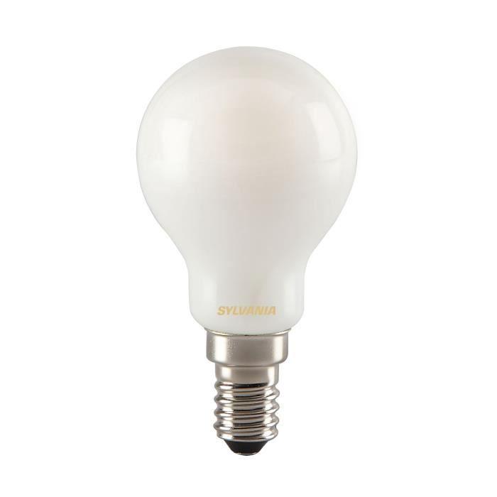 SYLVANIA Ampoule LED à filament Toledo RT Ball E14 4W équivalence 35W
