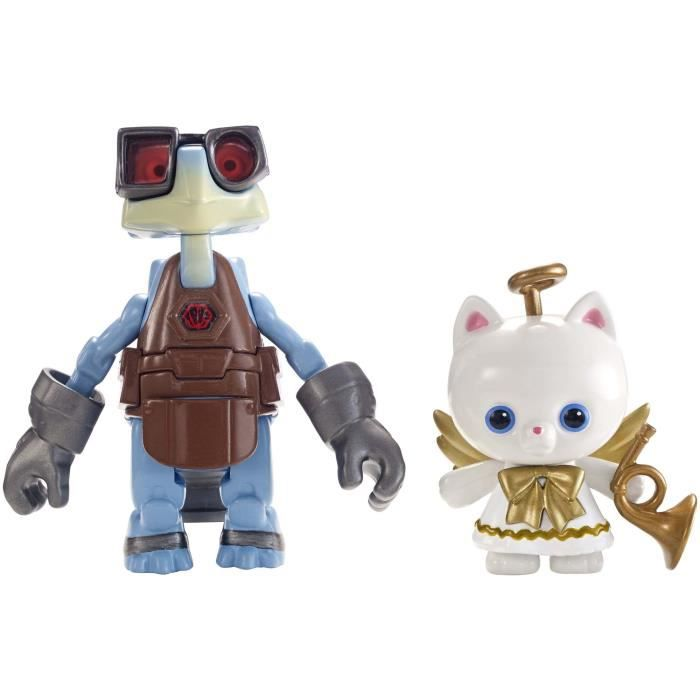 FIGURINE - PERSONNAGE TOY STORY - Angel Kitty & Raygon - Figurine 10 cm