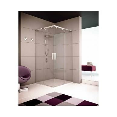 paroi de douche angulaire gamma seviban 180 cm transparent achat vente cabine de douche. Black Bedroom Furniture Sets. Home Design Ideas