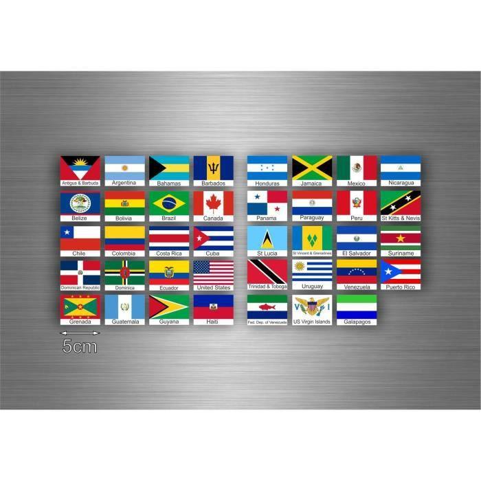 drapeau de Cuba en forme de Cœur-Multi Pack autocollants en vinyle Cuba