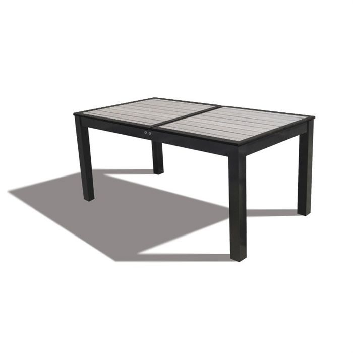 Table composite extensible 160 220 new york achat vente table de jardin tables de jardin Table de jardin extensible belgique
