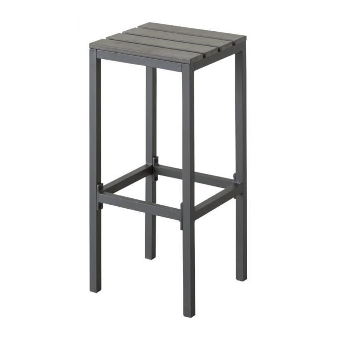 tabouret de bar calvillo exterieur hesperide achat vente fauteuil jardin tabouret de bar. Black Bedroom Furniture Sets. Home Design Ideas