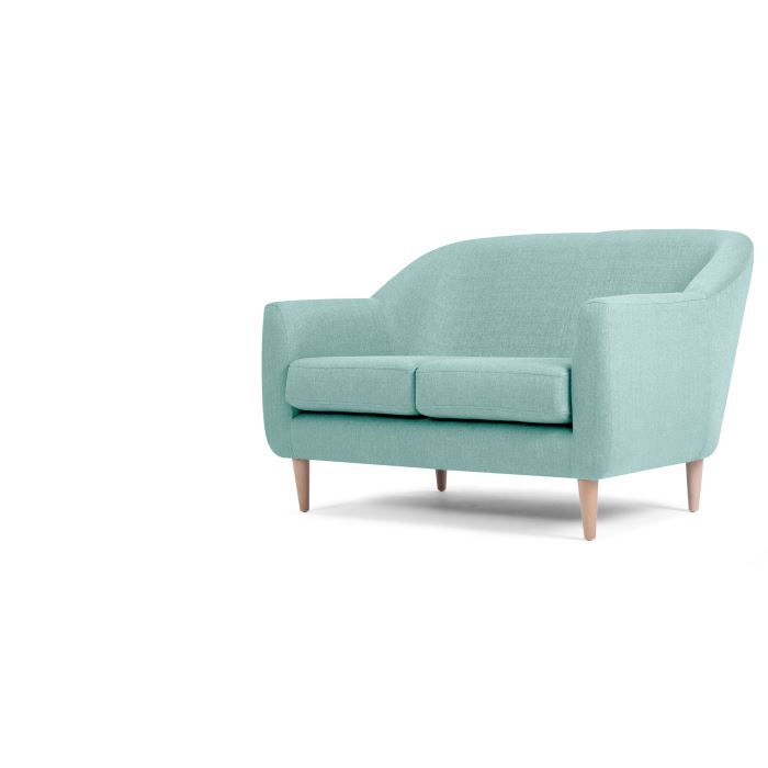 tubby canap 2 places bleu turquoise achat vente. Black Bedroom Furniture Sets. Home Design Ideas