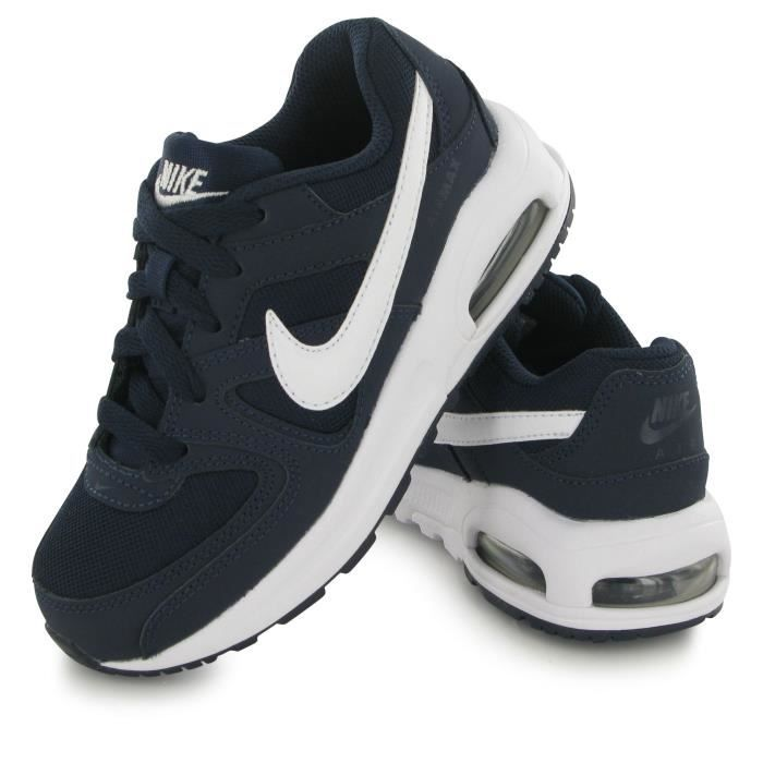 save off a8dec 8ca54 BASKET Nike Air Max Command Flex Kid bleu, baskets mode e