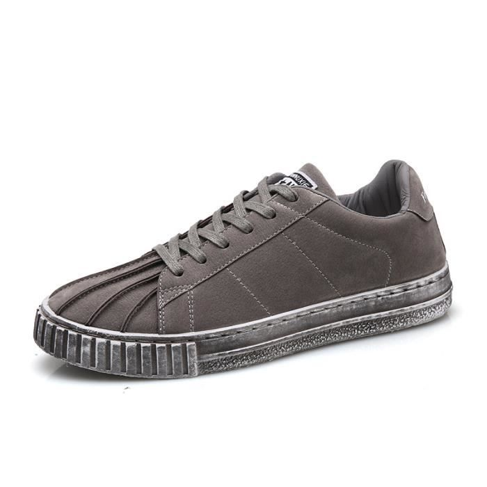 De Coquilles Chaussures Toile Casual Hommes Sneakers Sneakers Chaussures Avq44X