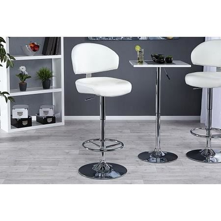 Tabouret de bar design blanc big achat vente tabouret de bar cdiscount - Tabouret de bar design blanc ...
