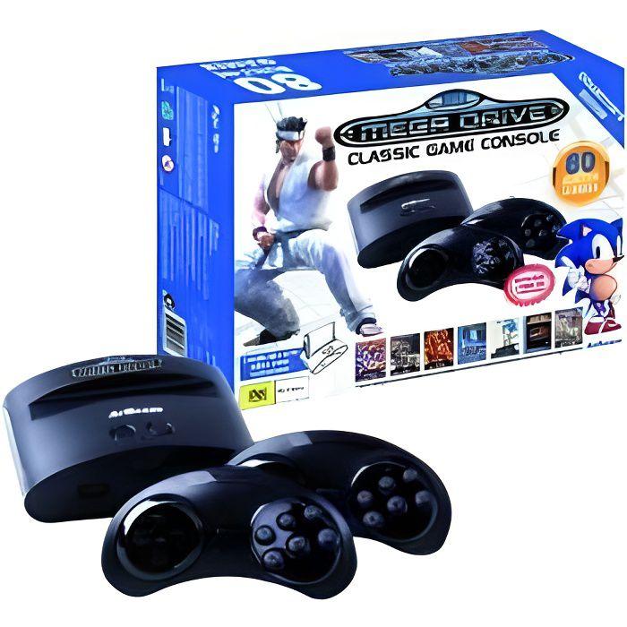 CONSOLE RÉTRO Sega - Retro Megadrive Classic Game Console 80 Jeu