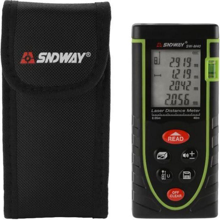 CP-100P 100M//328Ft Handheld Digital Infrarouge Laser Distance Mètre mesure Télémètre