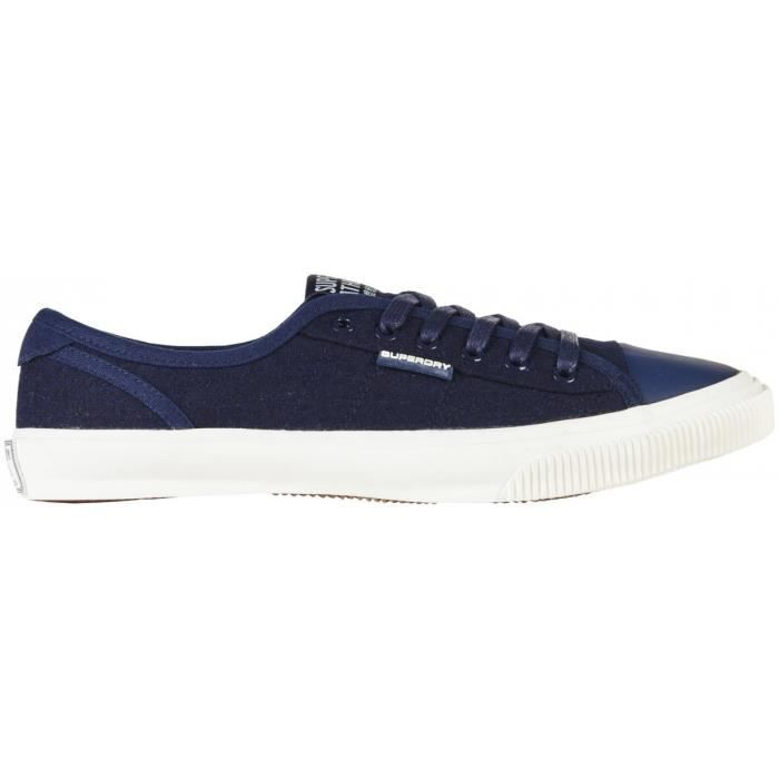 Tennis Superdry Low Pro Luxe Dark Navy Felt