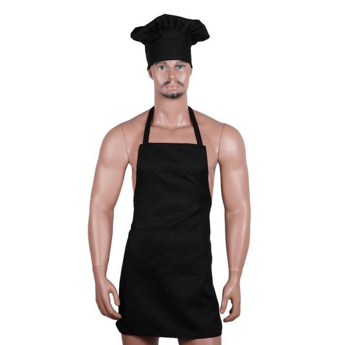 Tablier De Cuisine Femme Homme Toque De Cuisinier Adulte Design