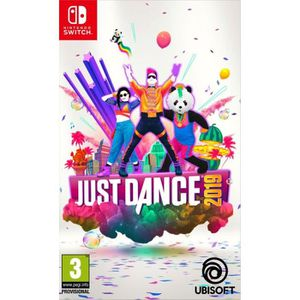 JEU NINTENDO SWITCH Just Dance 2019 Jeu Switch