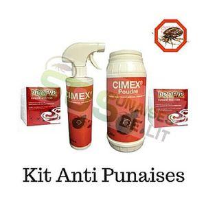 PRODUIT INSECTICIDE Pack insecticide punaise de lit