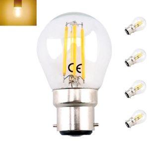 470 lumens 40W opale équivalent 4x energizer B22 5.9 watt bougie ampoule led