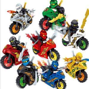 NINJAGO NINJA MOTO FIGURINES JOUET Hero Kai Jay Cole Zane Nya