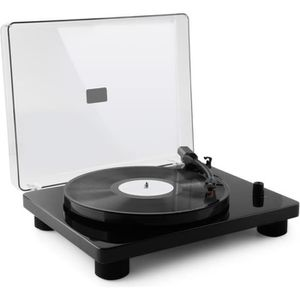 PLATINE VINYLE auna TT Classic BK - Platine tourne-disque rétro 3