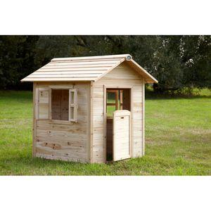 MAISONNETTE EXTÉRIEURE AXI Maison pour enfant NOA - Cabane en bois - 100