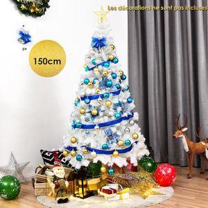 SAPIN - ARBRE DE NOËL COSTWAY Sapin de Noël Artificiel Arbre de Noël Art