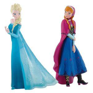 PELUCHE Disney B13063 - Coffret 2 Figurines Anna Et Elsa -
