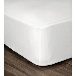 DRAP HOUSSE LOVELY HOME Drap Housse 100% coton 160x200x25 cm b