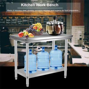 Vente plan table inox de Grande Vogue pliante Achat wOk8nPNX0