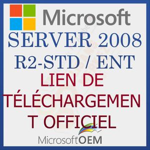 SYSTÈME D'EXPLOITATION Microsoft Server 2008 R2 Standard / Enterprise   A