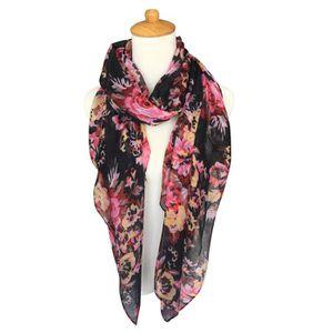 ECHARPE - FOULARD longue écharpe femme foulard 180x90cm GOGOU BY2015